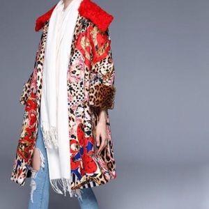 Multi Colour Spring Coat